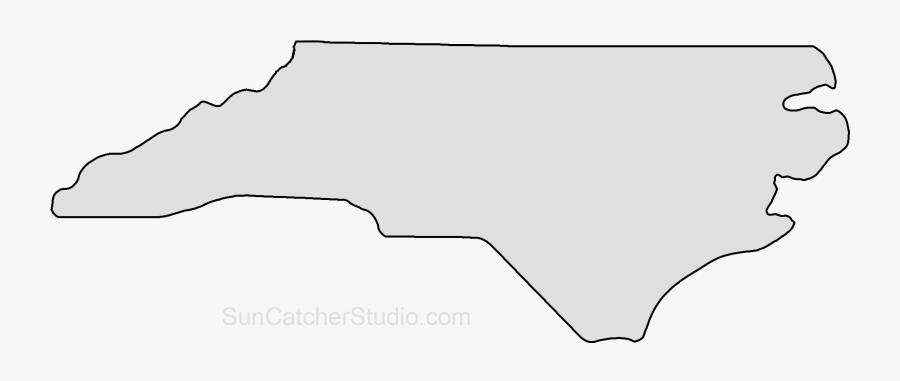 L-shape Clipart North Carolina - North Carolina Outline, Transparent Clipart