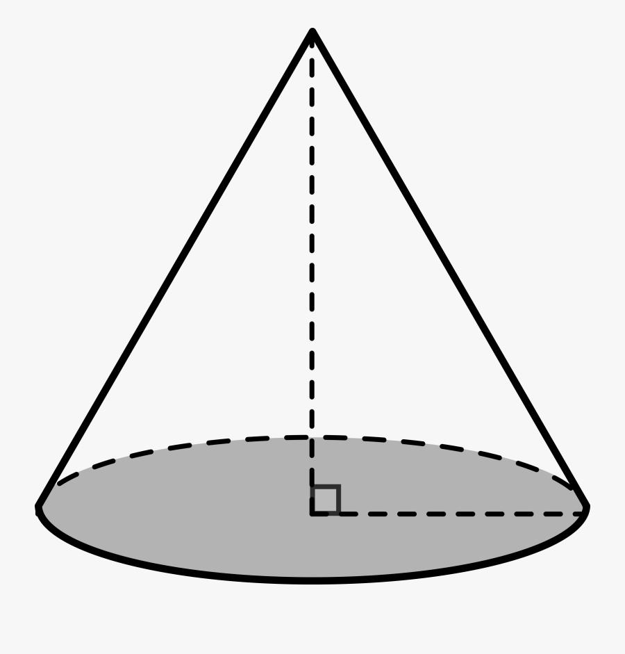 Transparent Cool Shapes Png - Cone Shape, Transparent Clipart