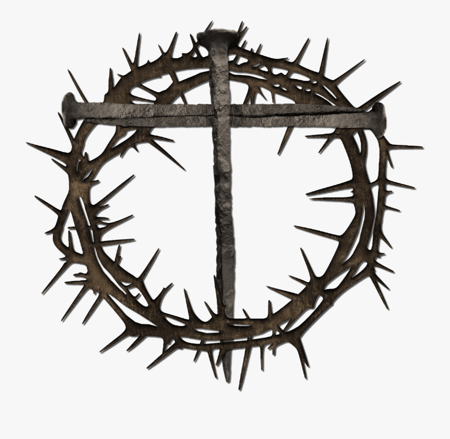 Pin By Crafty Annabelle On Easter Clip Art Crown Of - Crown Of Thorns And Nails Clipart, Transparent Clipart