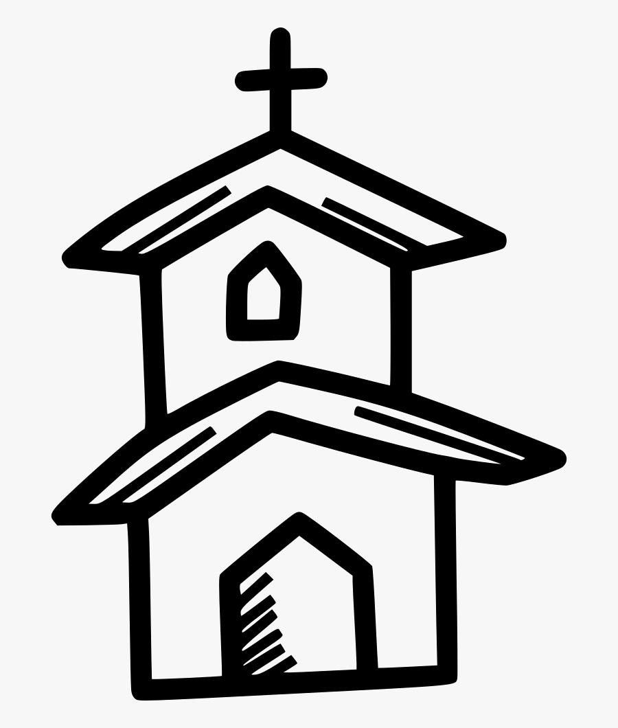 Church Institution Building Religious Prayer Christian - Catholic Institution, Transparent Clipart