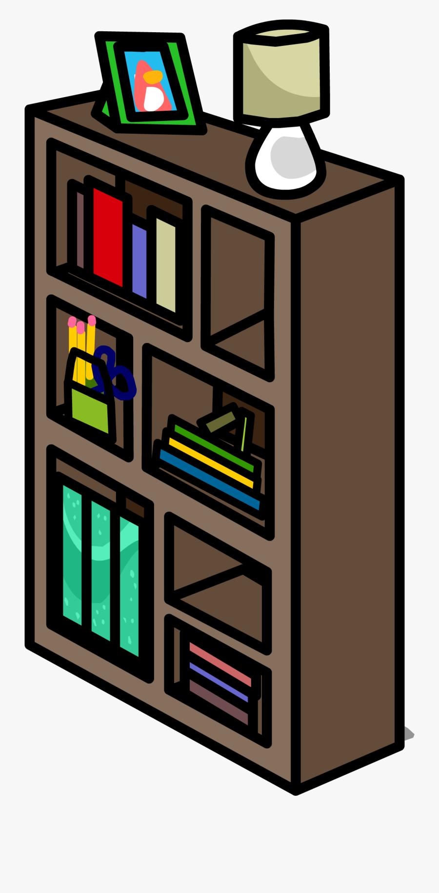 Funky Bookshelf Sprite - Wooden Box Clipart, Transparent Clipart