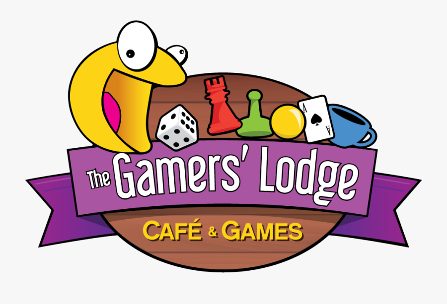 Gaming Clipart Tabletop Game - Board Games Cafe Logo, Transparent Clipart
