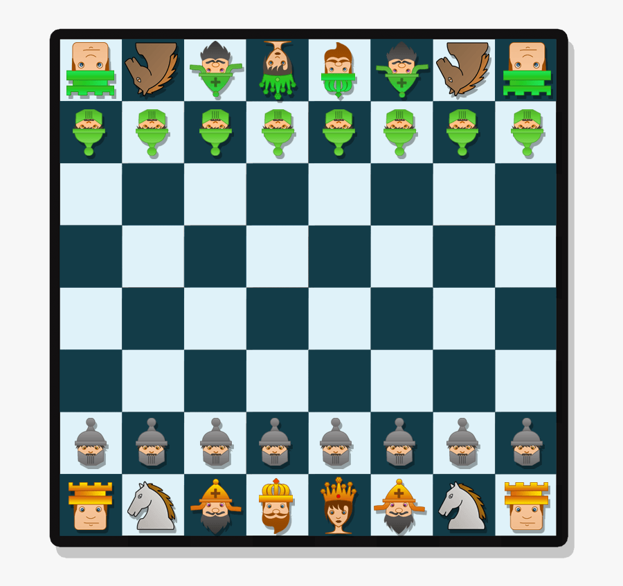 Free To Use & Public Domain Chess Clip Art - Chess Game Start, Transparent Clipart