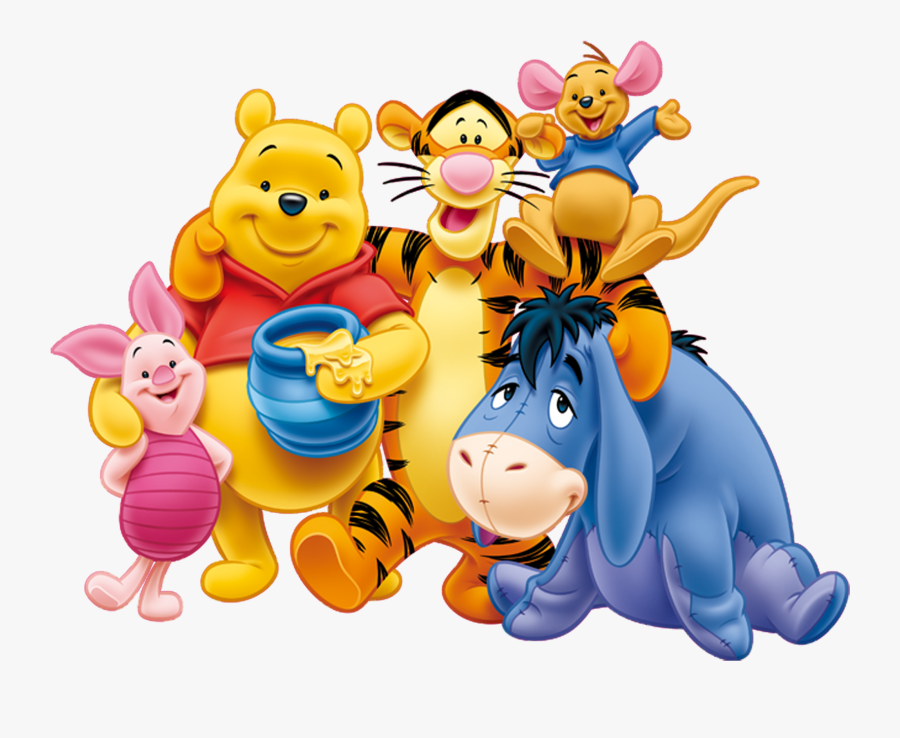 Saiprojects - Winnie The Pooh Characters, Transparent Clipart