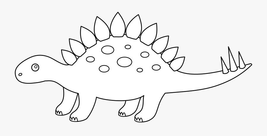 - Stegosaurus Coloring Page - Helios Kikerter , Free Transparent Clipart -  ClipartKey