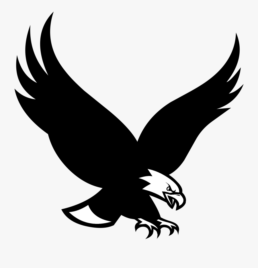 Of Prey,golden Art,black And White,falconiformes,kite - Boston College Eagle Logo, Transparent Clipart