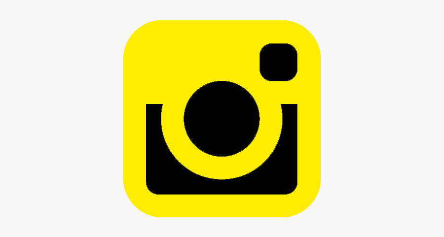 Instagram Logo Black And Yellow , Free Transparent Clipart ...