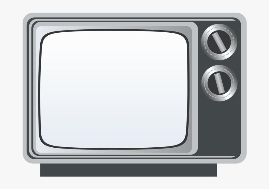 Old-television - Transparent Old Tv Png, Transparent Clipart