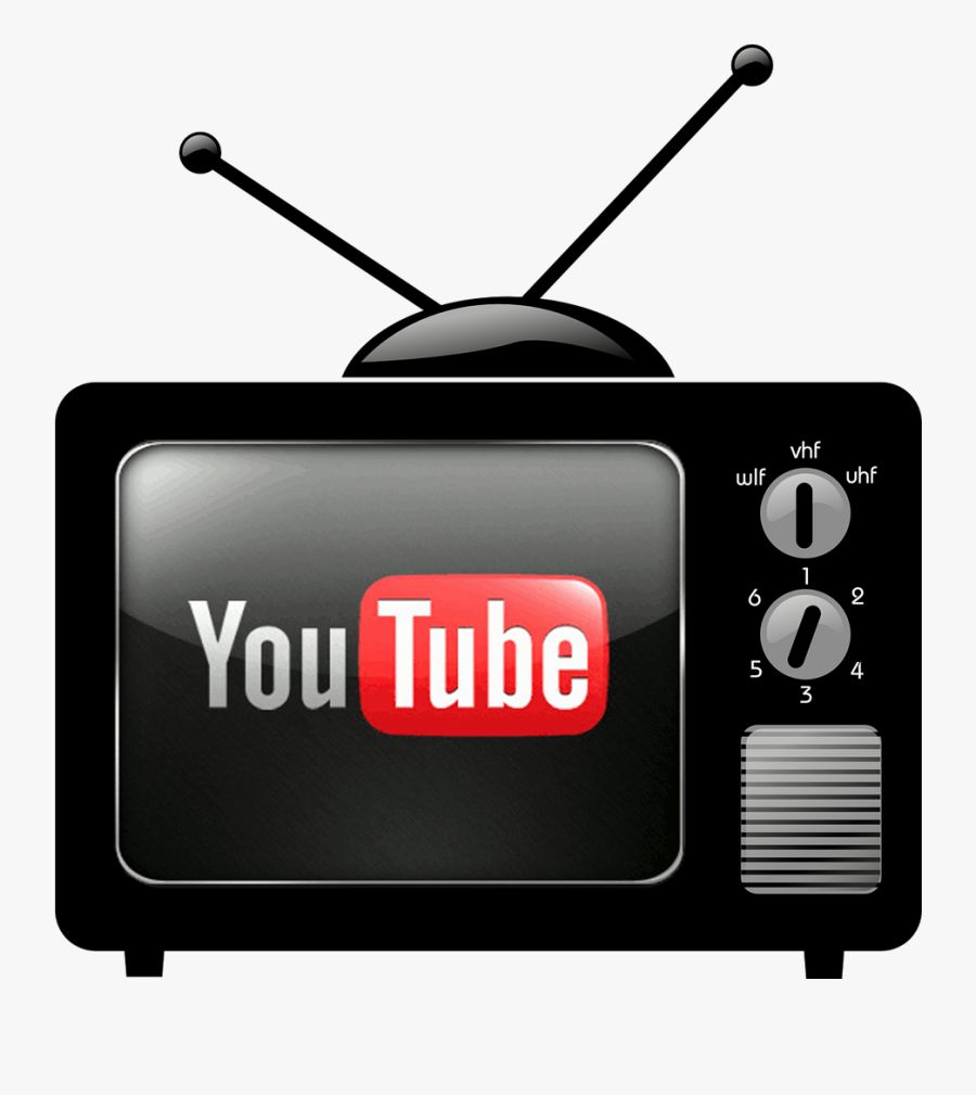 Download Youtube A Threat - Transparent Background Old Tv Clipart, Transparent Clipart