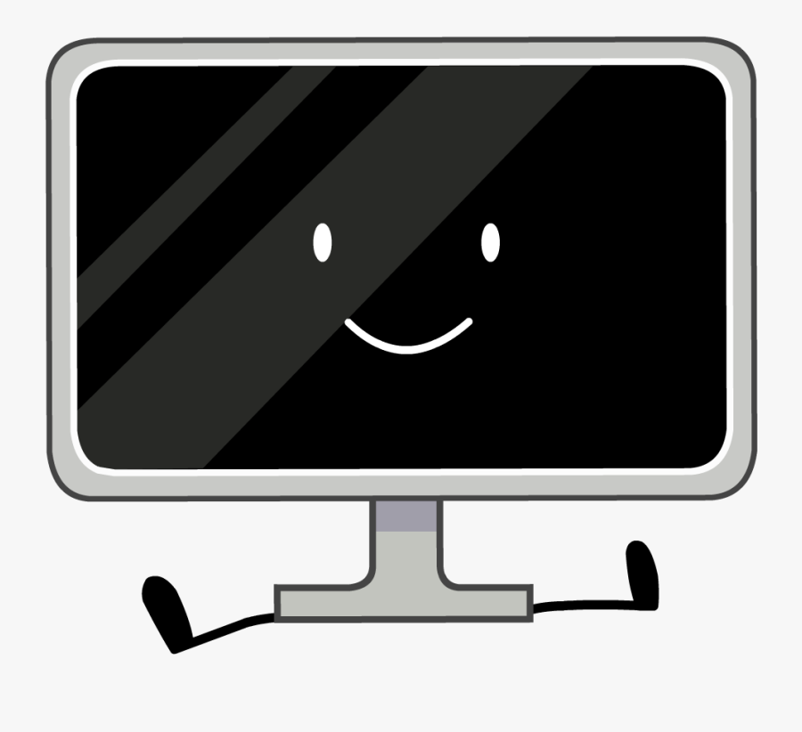 Television Clipart Hard Object - Bfdi Tv, Transparent Clipart