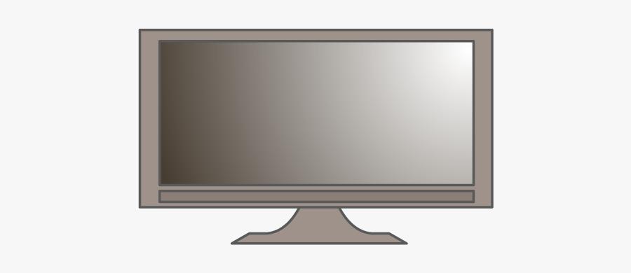 Led-backlit Lcd Display, Transparent Clipart