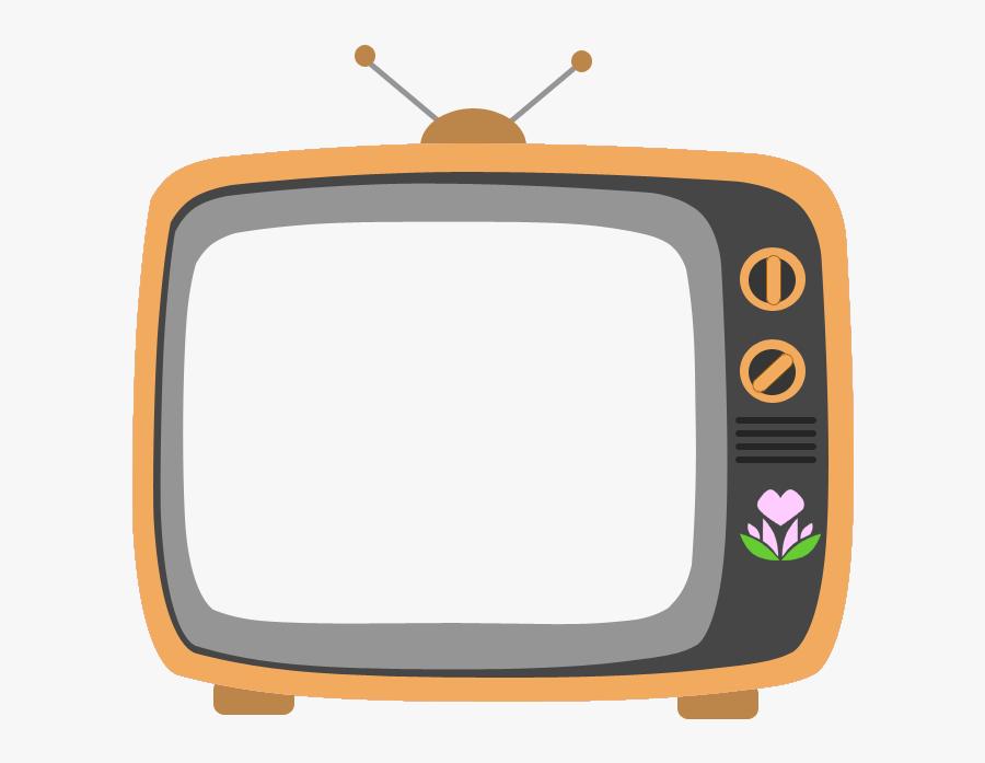 Transparent Tv Clipart Png - Tv Cartoon Vector Png, Transparent Clipart