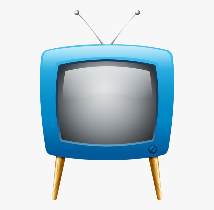 Cartoon Tv With Face, Transparent Clipart