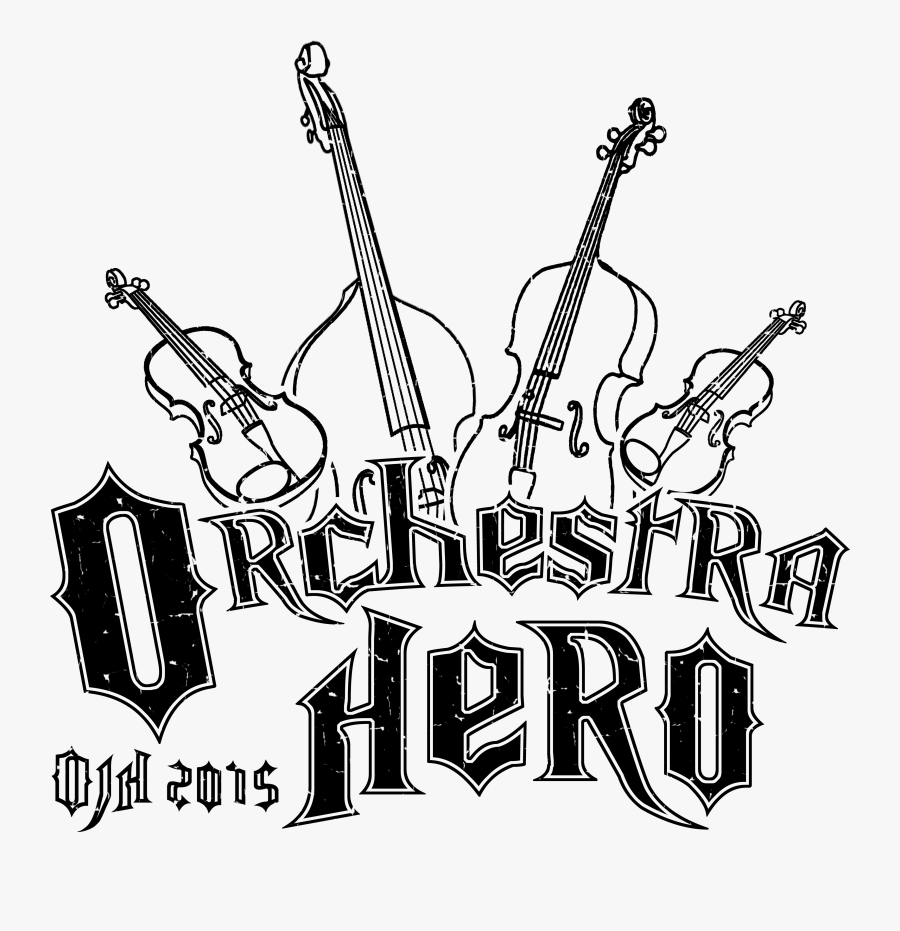 Orchestra For Drawing, Transparent Clipart