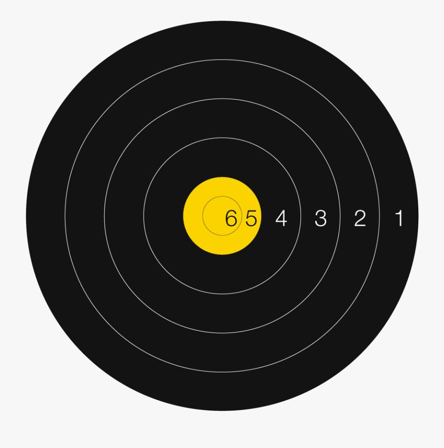 Archery Target Png - Prohibido Fumar, Transparent Clipart