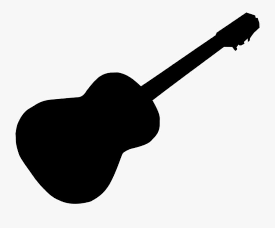 Guitar,string Instrument,string Instrument,musical - Acoustic Guitar Silhouette Png, Transparent Clipart