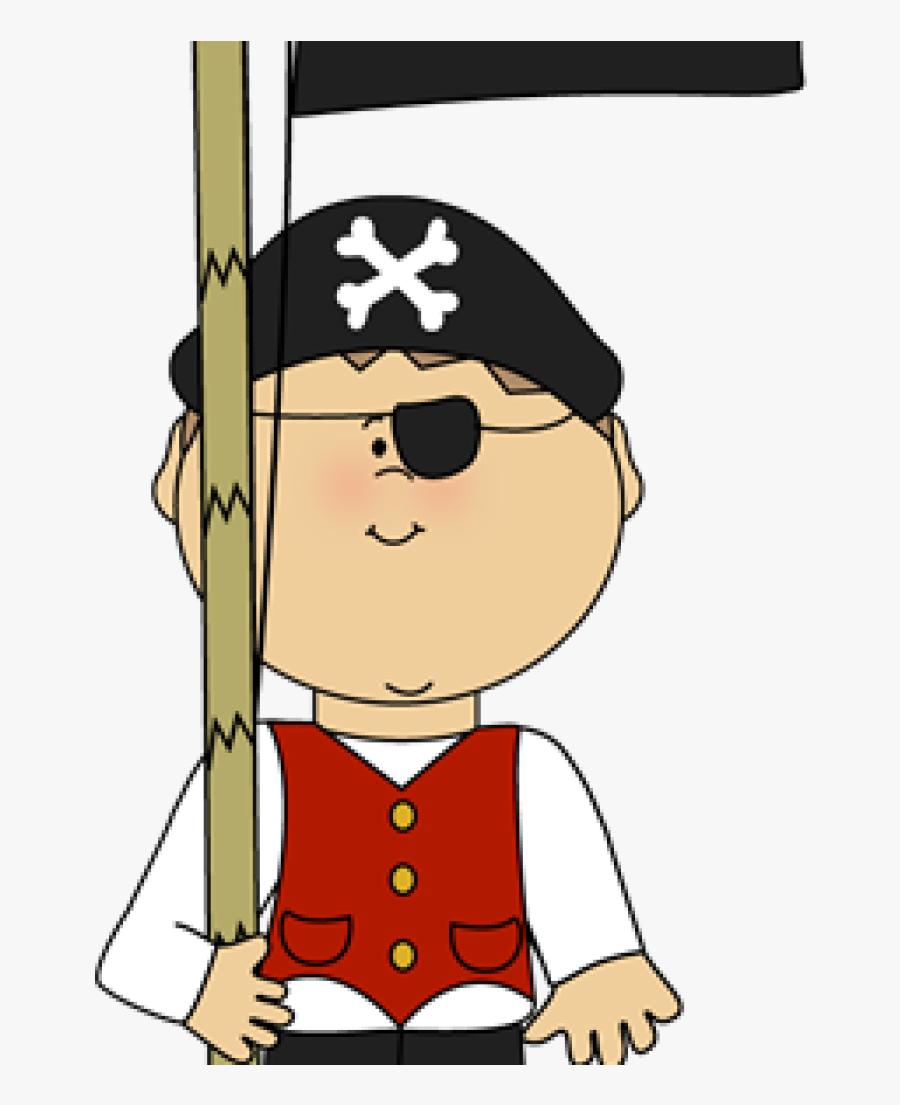 Transparent Pirate Clipart - Halloween Kid Clipart, Transparent Clipart