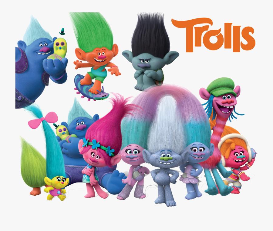 Trolls Png Best Collection - Trolls Png, Transparent Clipart