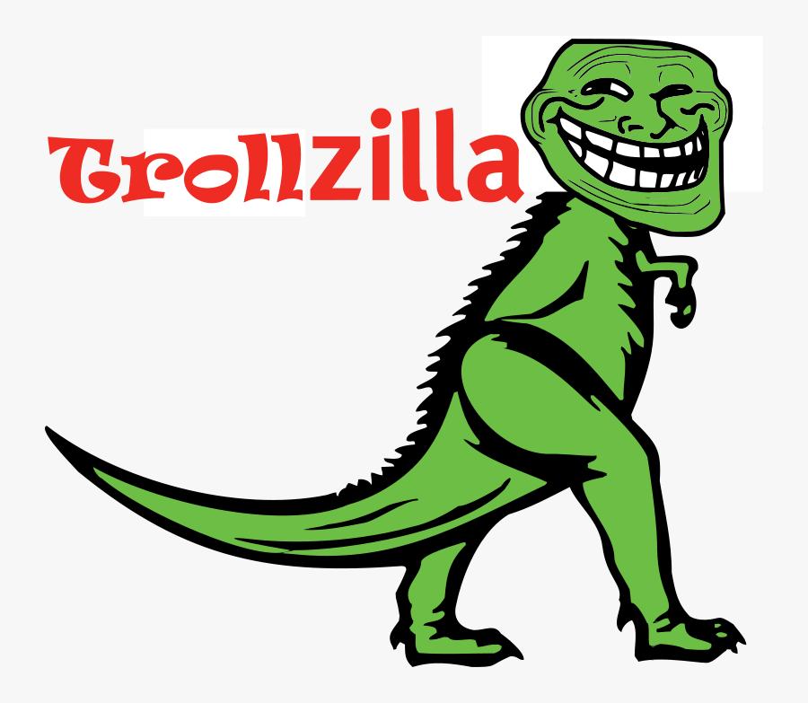 Troll Clip Art Download - Troll Face, Transparent Clipart