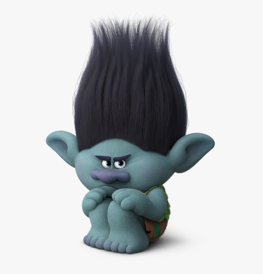 Vector Royalty Free Stock Dreamworks Animation S Is - Male Troll From Trolls, Transparent Clipart