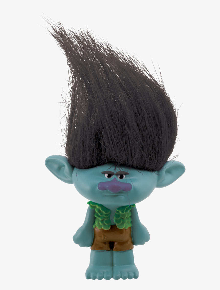 Trolls Png Toy Branch Keychain - Trolls Branch Action Figure, Transparent Clipart