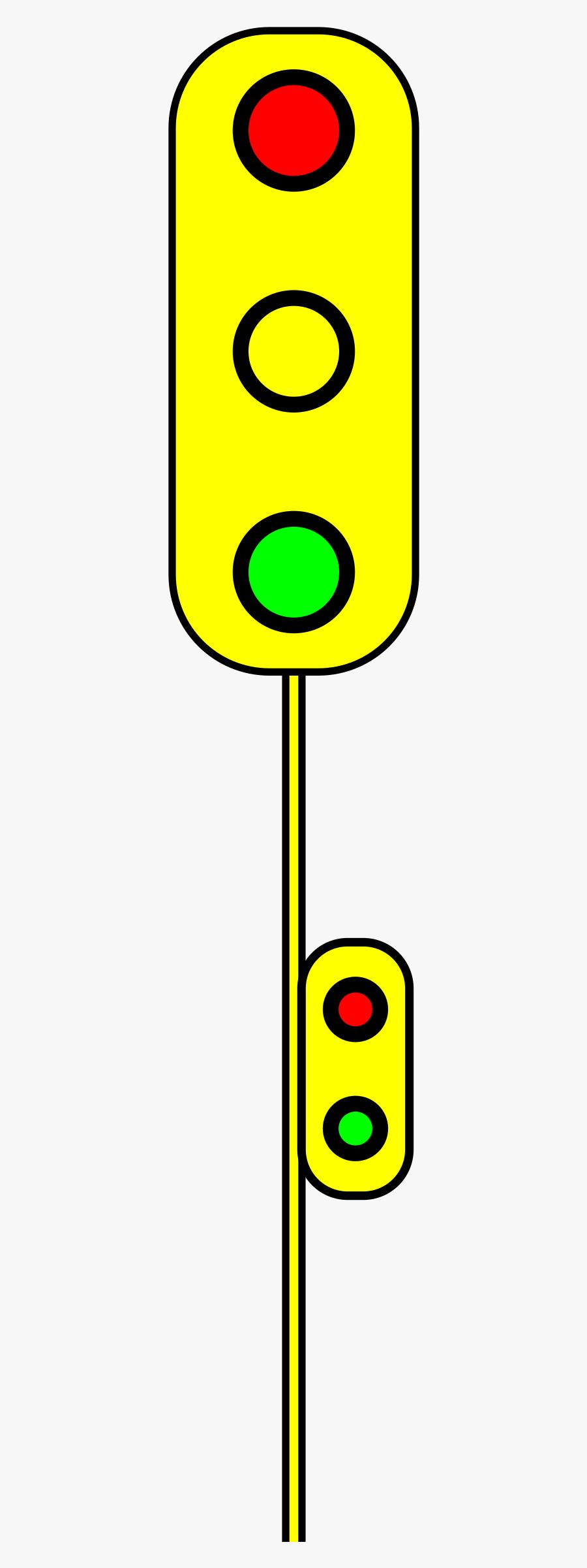 Traffic Light Clipart Small - Traffic Light, Transparent Clipart
