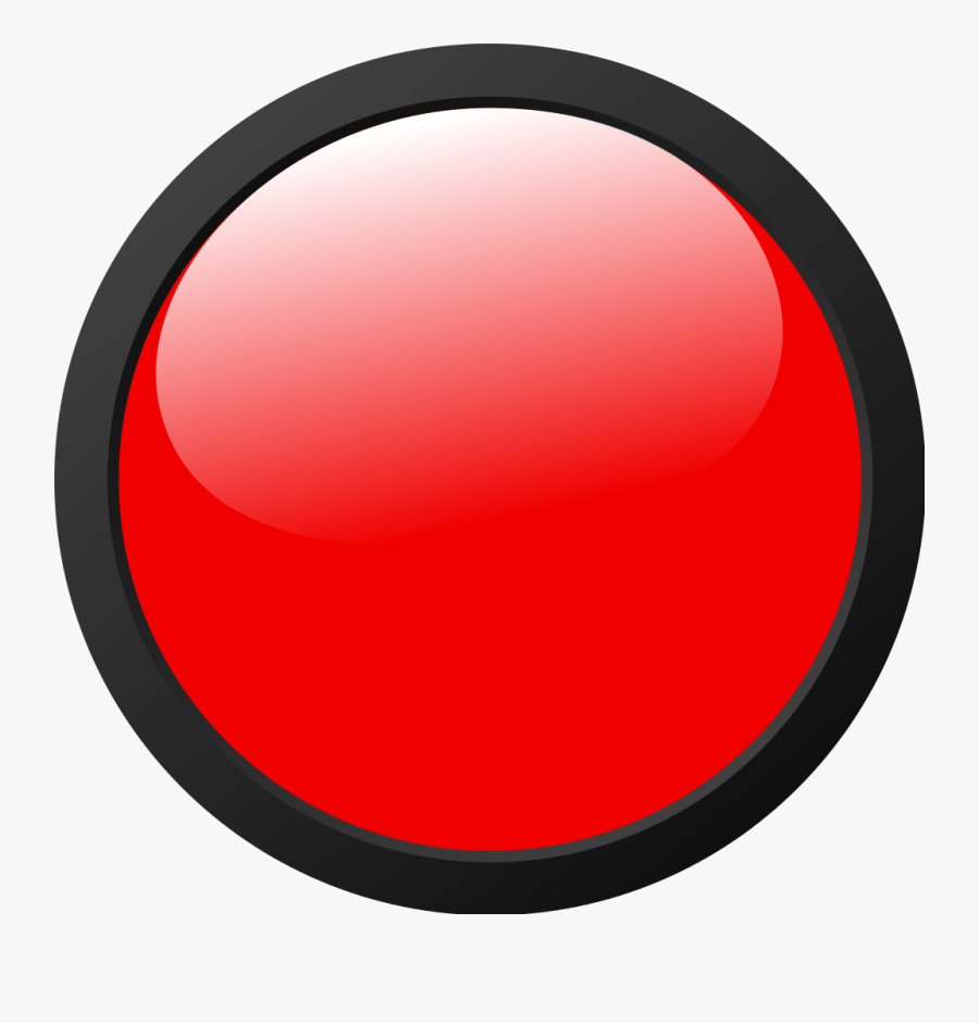 Red Traffic Light Icon, Transparent Clipart