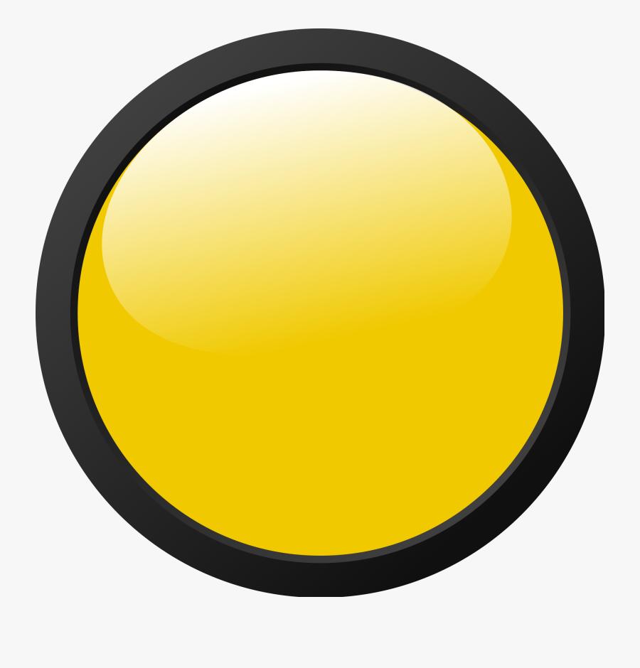 Yellow Light Icon - Yellow Traffic Light Icon, Transparent Clipart