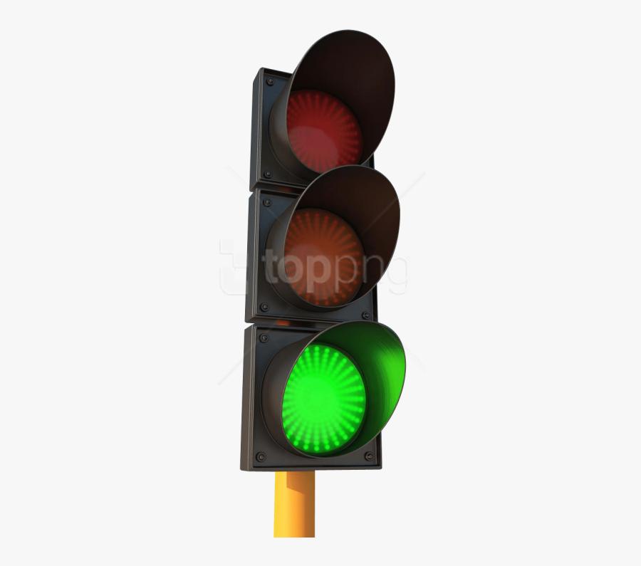 Traffic Light Clipart Signal - Green Traffic Light Png, Transparent Clipart