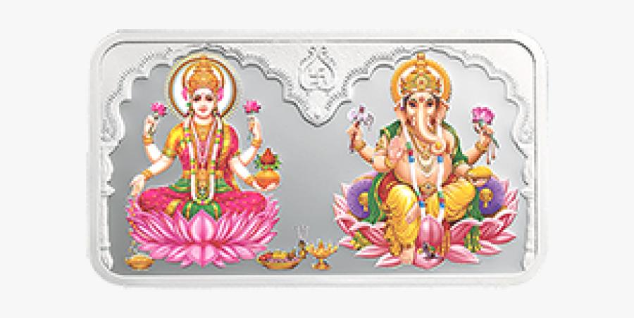 Laxmi Ganesh Png - Laxmi And Ganesh Png, Transparent Clipart