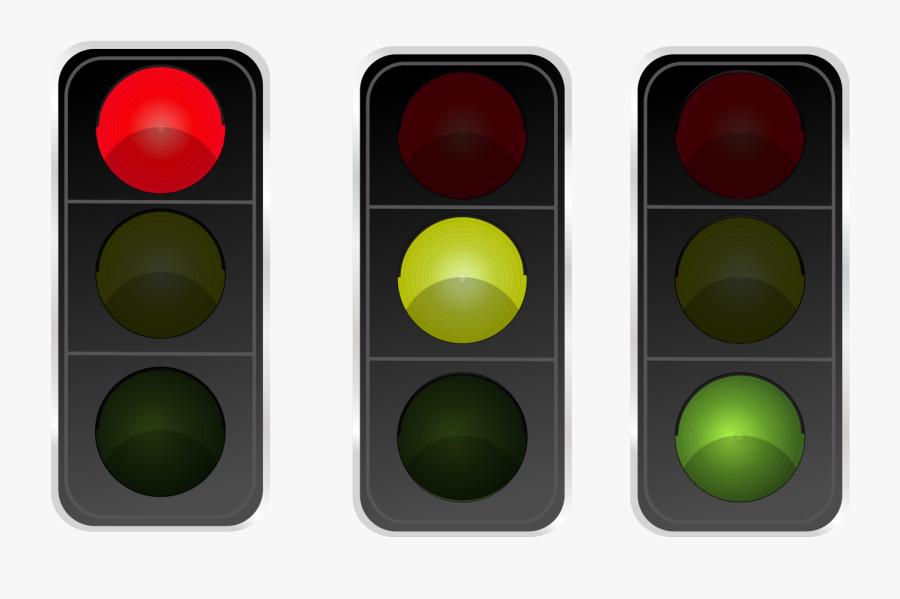 Lights Clipart Red Green - Traffic Light, Transparent Clipart