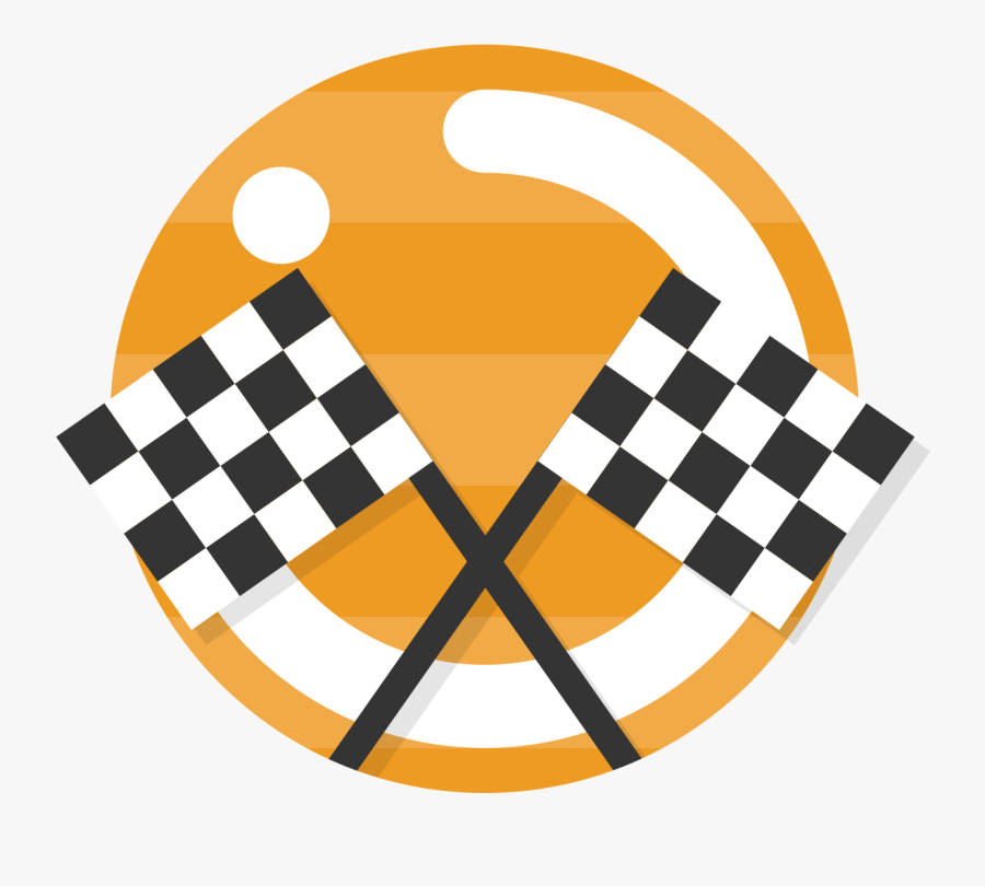 Energy Efficiency & Cost - Race Track Finish Line Flag, Transparent Clipart