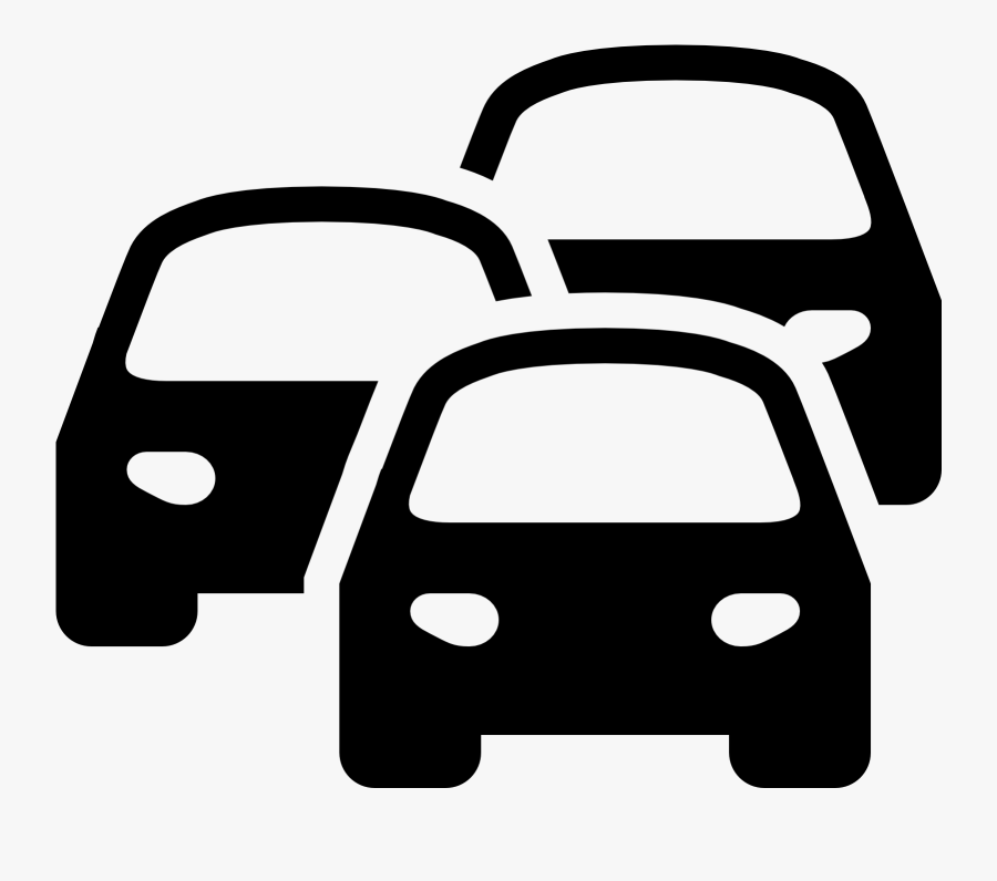 Car Computer Icons Traffic Congestion Traffic Light - Traffic Congestion Traffic Jam Clipart, Transparent Clipart