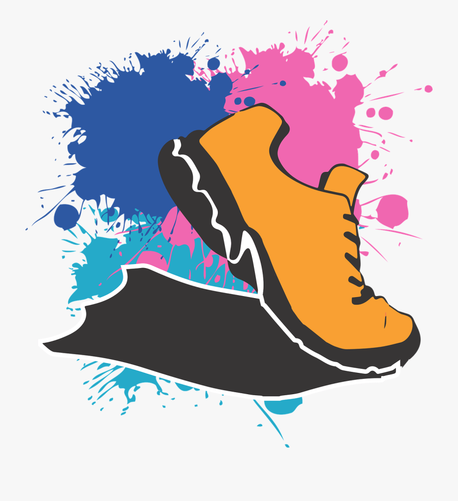 Running Shoes Clipart 5k Run Running Shoes Cartoon Png Free Transparent Clipart Clipartkey