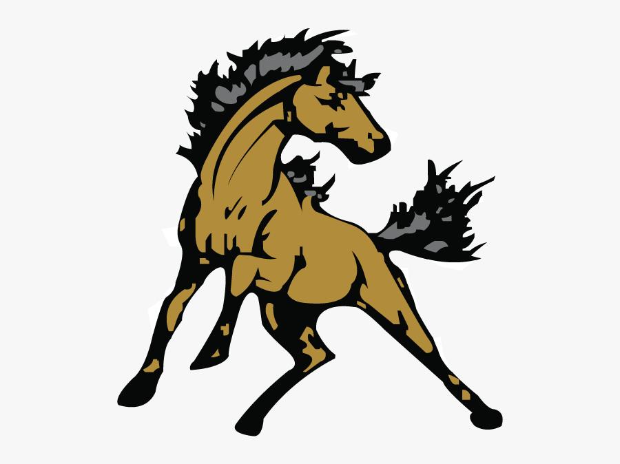 Stallion Drawing Horse Mascot Huge Freebie Download - South Effingham Middle School Logo, Transparent Clipart