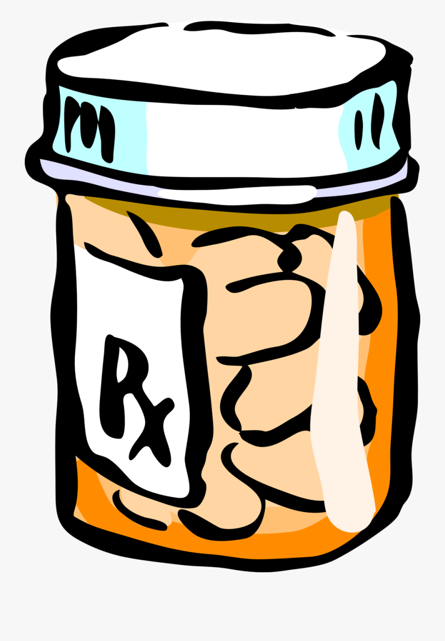 Medicine Clipart Pain Medication - Transparent Background Pill ...