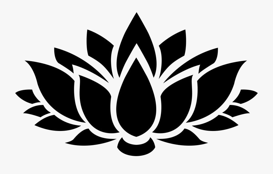 Lotus Flower Image Clipart - Lotus Flower Vector Png, Transparent Clipart