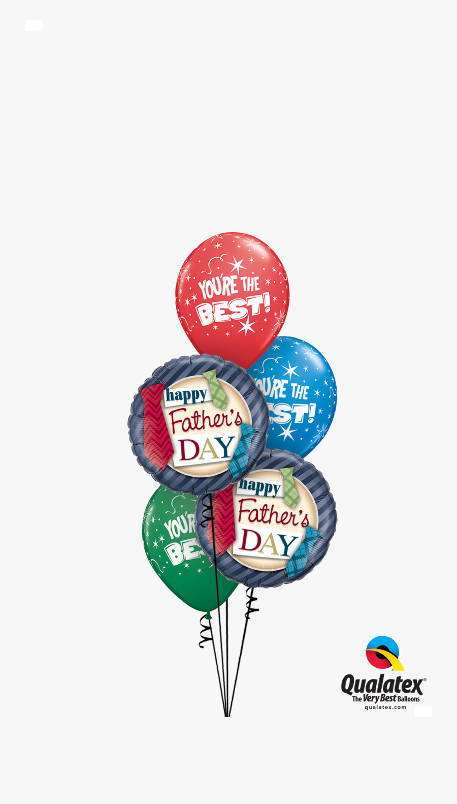 Transparent Fathers Day Tie Clipart - Happy Fathers Day Balloon, Transparent Clipart