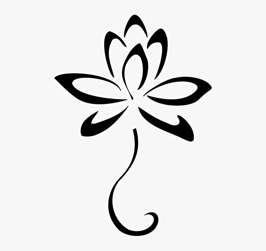 Lotus Flower Photo - Lotus Flower Tattoo, Transparent Clipart