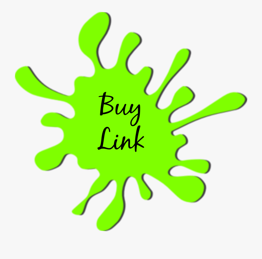 Transparent Slime Clipart - Green Paint Splatter Clipart, Transparent Clipart