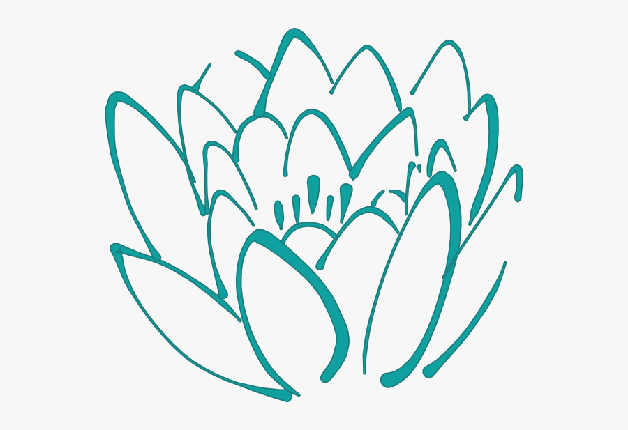 Lotus Flower Clip Art, Transparent Clipart
