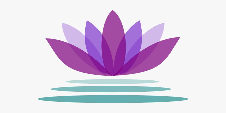 Lotus Flower Logo Png, Transparent Clipart