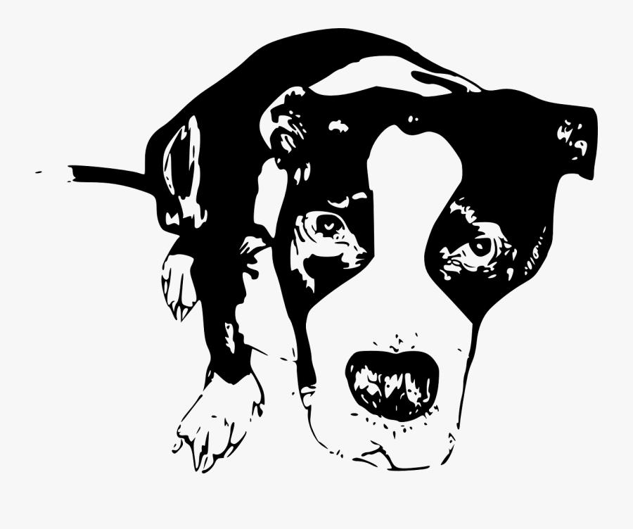 Visual Arts,silhouette,art - Contoh Gambar Anjing Ilustrasi, Transparent Clipart
