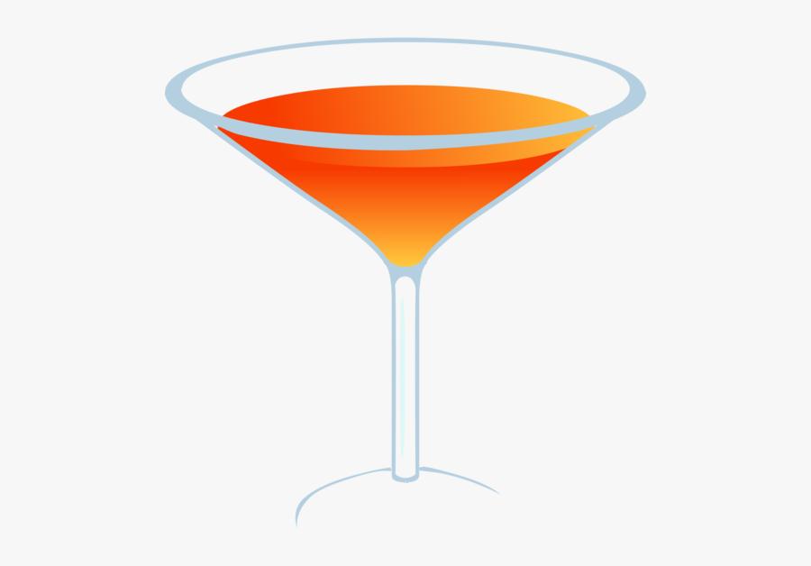 Cocktail,martini Glass,drink - Martini Glass, Transparent Clipart