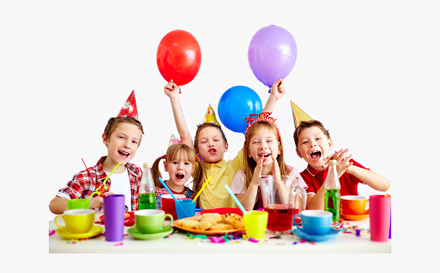 Clip Art Birthday Party Pictures - Kids Celebrating Birthday, Transparent Clipart