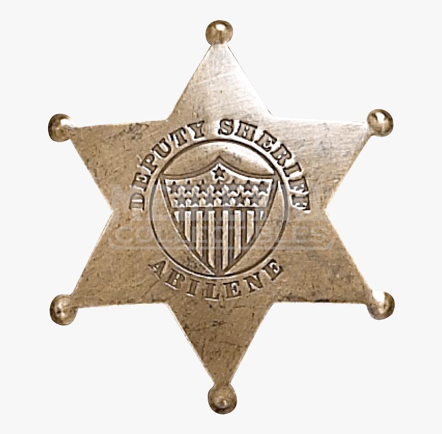Clip Art Sheriff Star Images - Sheriff Badge Transparent Background, Transparent Clipart