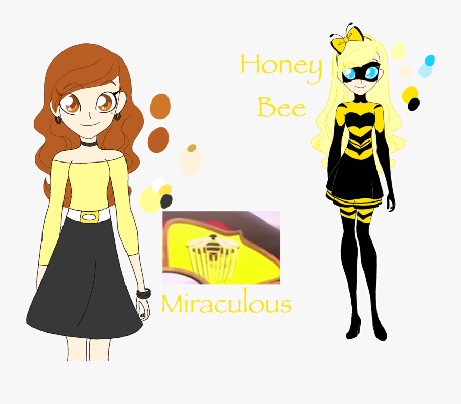 Honey Clipart Wand - Bee Miraculous Ladybug Weapons, Transparent Clipart