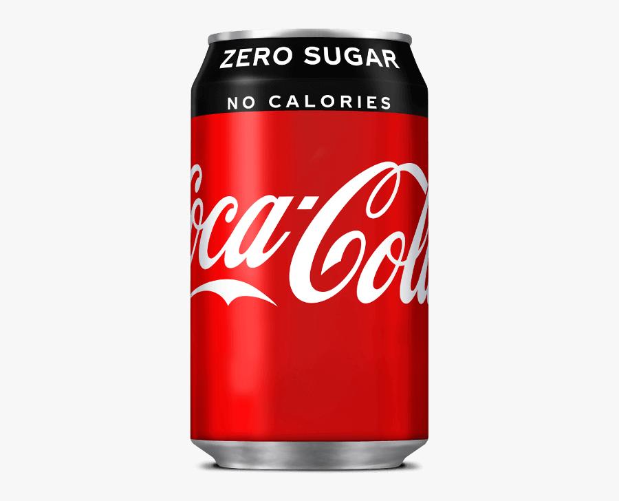 Coke Tin Png - Coca Cola Zero Cherry, Transparent Clipart