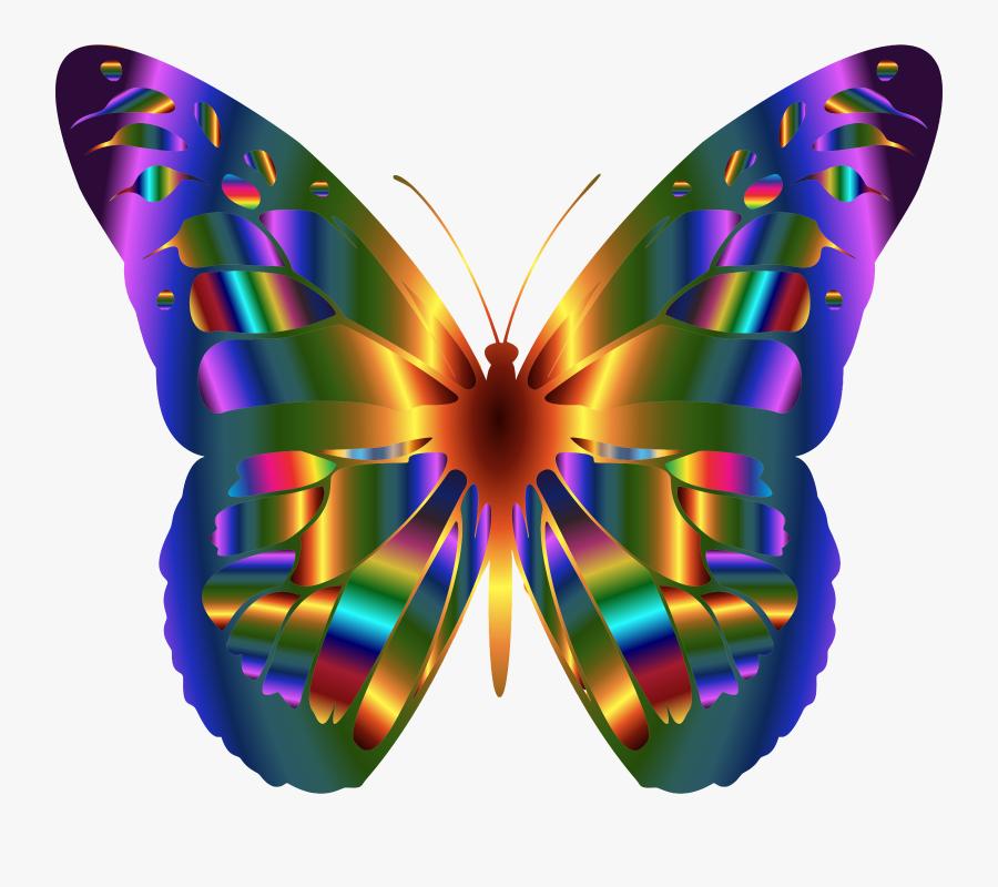 Beautiful Butterfly Clip Art, Transparent Clipart