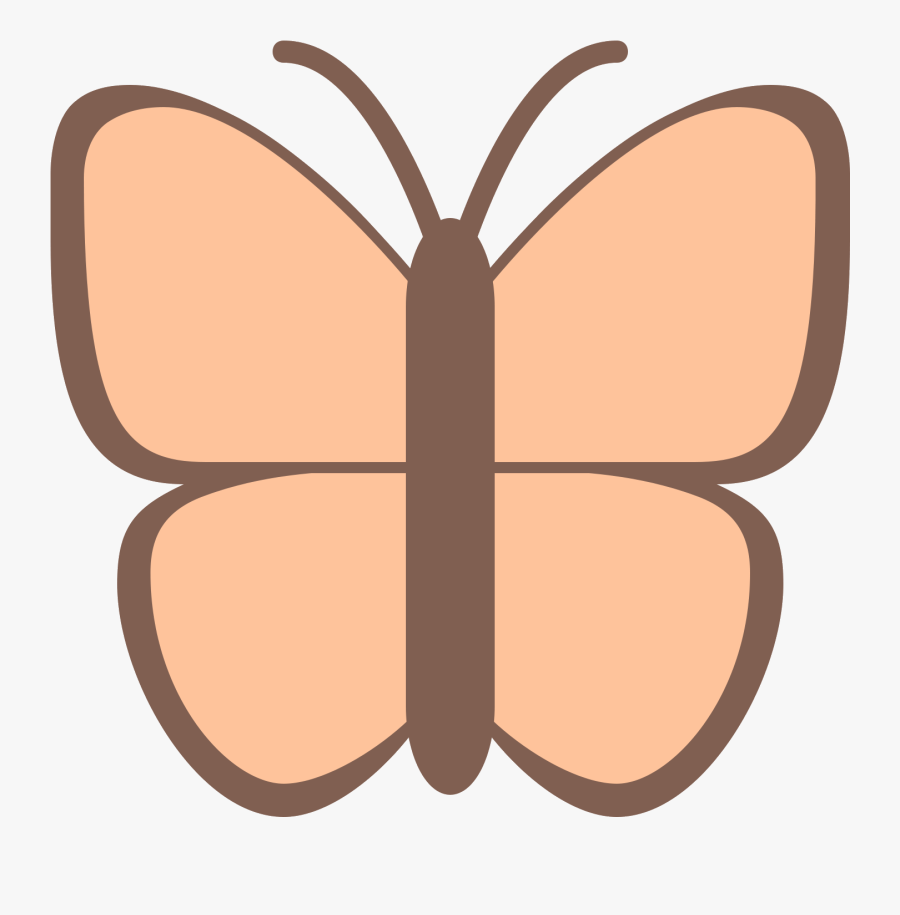 Icona Butterfly Download Gratuito - Brush-footed Butterfly, Transparent Clipart